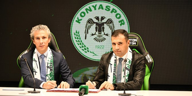 Koyuncu, Konyaspor'a sponsor oldu