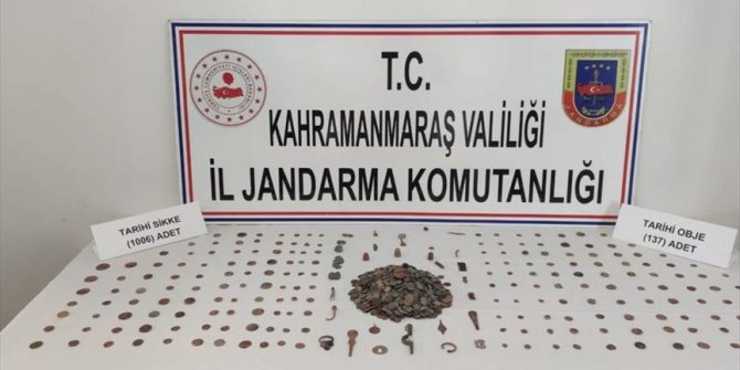 Over 1,000 historical artifacts seized in Turkey