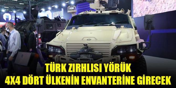 Türk zırhlısı Yörük 4x4 dört ülkenin envanterine girecek