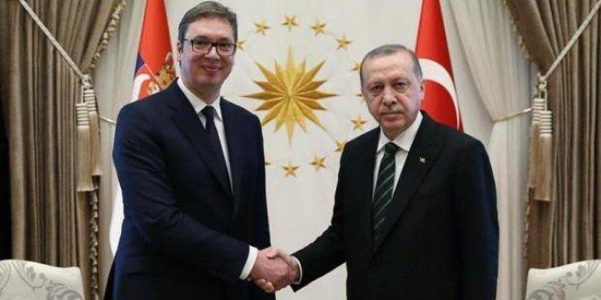 Erdoğan, Sırbistan Cumhurbaşkanı ile görüştü