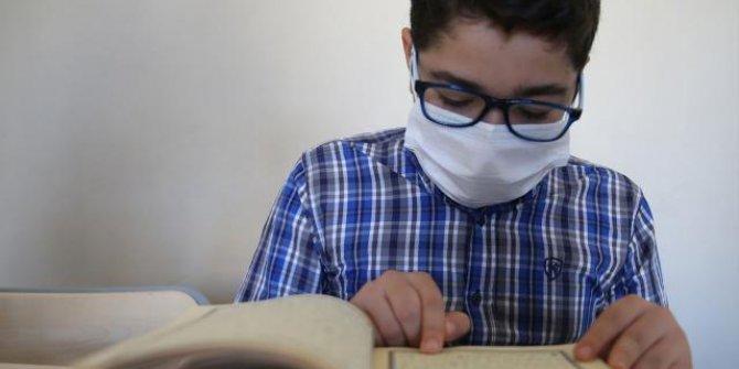 8 ayda hafız olan Bilal'in hedefi Türkiye birincisi olmak