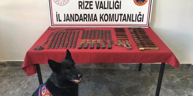 Kaçak silah atölyesine baskında 1 kişi gözaltına alındı