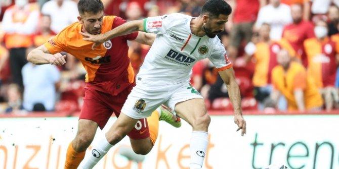 Galatasaray, Alanyaspor'a mağlup