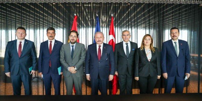 TBMM Başkanı Şentop: 'En çok mülteciyi barındıran ülke Türkiye'dir.