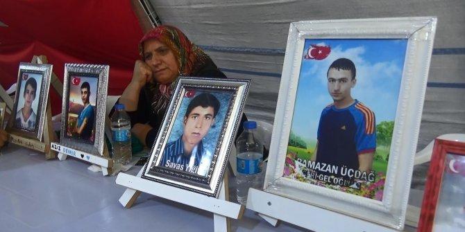 Çocuklarını PKK'dan almakta kararlılar