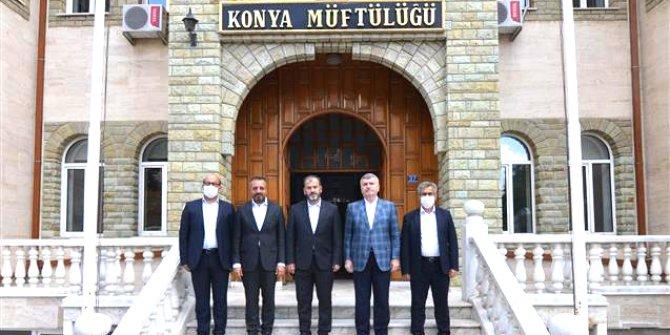 Milletvekili Akyürek'ten  Müftü Öge'ye ziyaret