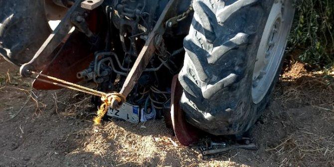 Traktörün altında kalan Nevfel, öldü