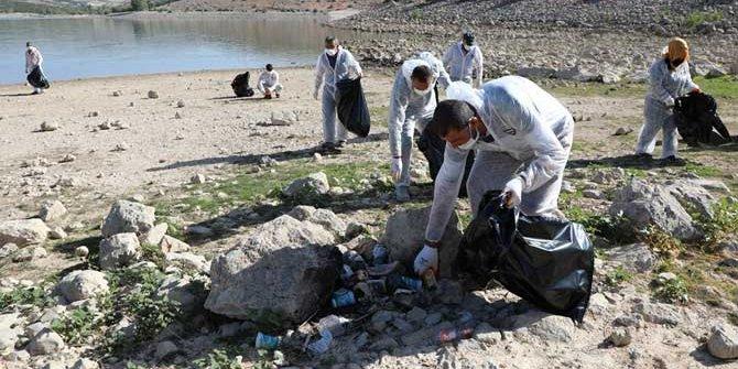 Altınapa Barajı'nda geniş çaplı temizlik