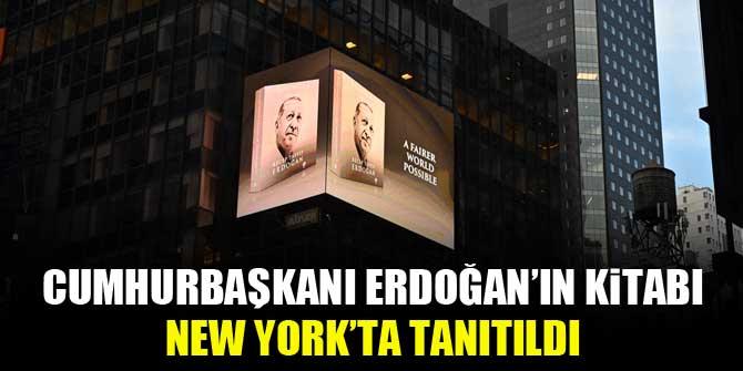 """Cumhurbaşkanı Erdoğan'ın """"Daha Adil Bir Dünya Mümkün"""" kitabı New York'ta tanıtıldı"""