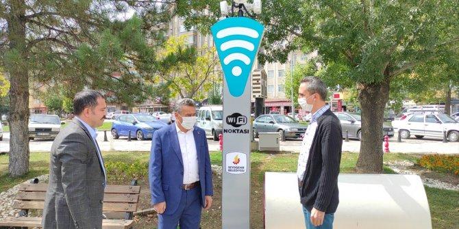 Seydişehir Belediyesi'nden ücretsiz internet hizmeti