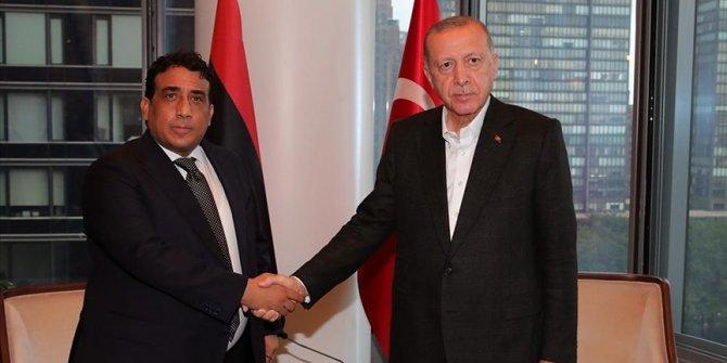 Erdogan se u New Yorku sastao sa predsjednikom Vijeća predsjedništva Libije Menfijem