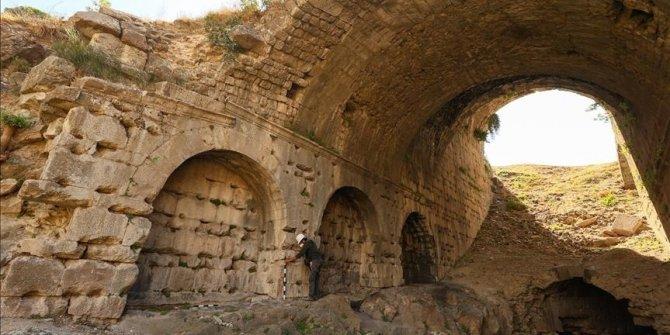 'Box seats' for elite found at ancient amphitheater in Turkey's Izmir