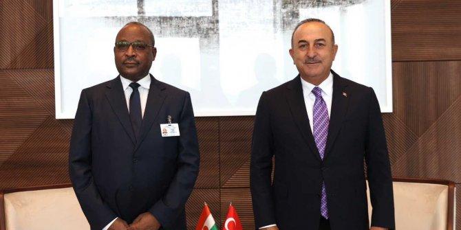 Dışişleri Bakanı Çavuşoğlu, Nijer Dışişleri Bakanı Massaoudou ile görüştü