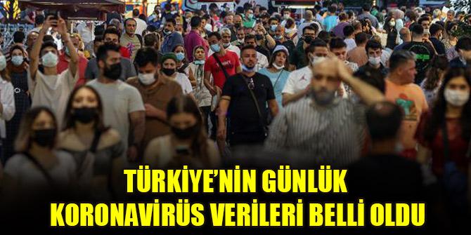 Türkiye'nin günlük koronavirüs verileri belli oldu