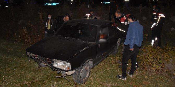 Havaya ateş açıp polisten kaçtı, kaza yapıp öldü