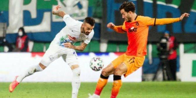 Galatasaray ile Çaykur Rizespor 41. randevuda
