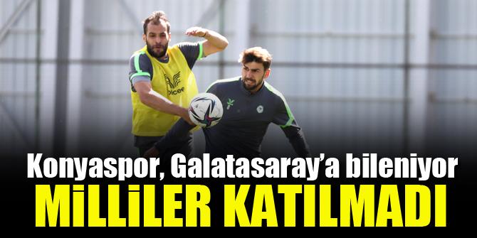 Konyaspor, Galatasaray maçına hazırlanıyor