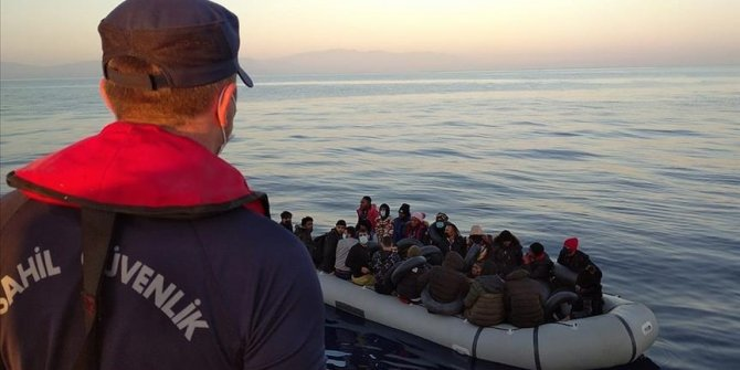 Turkey rescues 125 more irregular migrants pushed back by Greece