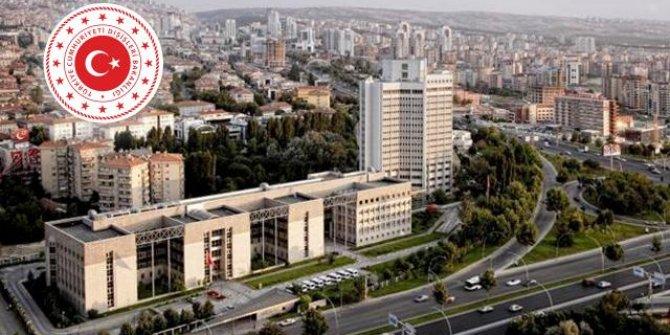 10 ülkenin büyükelçisi, Dışişleri Bakanlığına çağrıldı