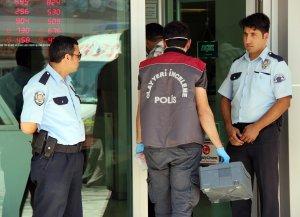 Bankada soygun girişimi