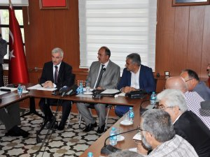 Konya'da mülteciler konuşuldu