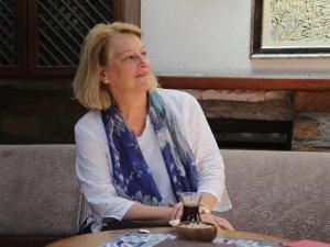 Amerikalı yazar Branning Konya'yı ziyaret etti