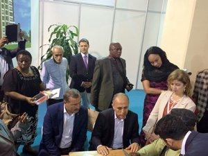 Başkan Kütükcü, KONEXPO'ya katılan firmaları ziyaret etti