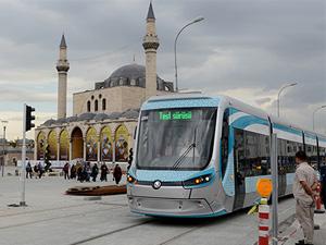Adliye-Selçuk Üniversitesi hatlarında tramvay seferleri başlıyor