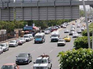 Konya'da araç sayısı artıyor
