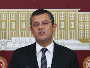 CHP Grup Başkanvekili Özel'den açıklamalar