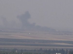 TSK obüslerle IŞİD'i vurdu