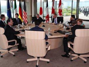 G7 liderlerinden İngiltere'ye 'Brexit' uyarısı