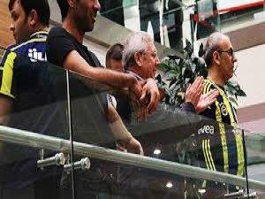 Aziz Yıldırım, Galatasaray taraftarını alkışladı!