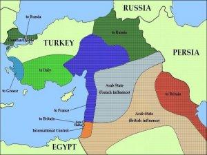 Sykes-Picot: 'Yapay' sınırlardan 'yapay' tasavvurlara