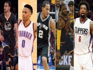 NBA'de yılın 5'i belli oldu