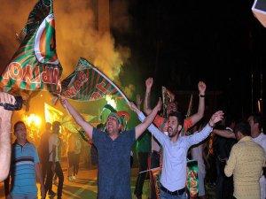 Alanya'da Süper Lig coşkusu