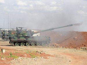 Army: Turkish artillery kills Daesh terrorists in Syria