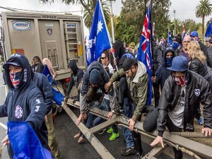 Australian pro-multiculturalism rally turns violent