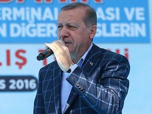 Cumhurbaşkanı Erdoğan Amerika'yı kınadı