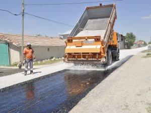 İsmil Mahallesi'nde kanalizasyon geçen sokaklar asfaltlandı