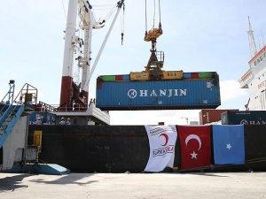 Türkiye'den Somali'ye gıda yardımı
