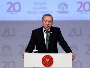 """Erdoğan: """"Manevi ilimlerle yetişen gençlerin artması lazım"""""""