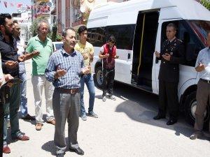 Şehit Üsteğmen Düzenli'nin ailesi dualarla Konya'ya uğurlandı