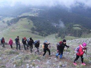 Beyşehir'de dağcılık şenliği