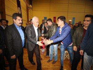Nihat Hatipoğlu Beyşehirlilerle buluştu