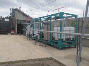 Seydişehir'de asfalt üretim tesisi kuruldu