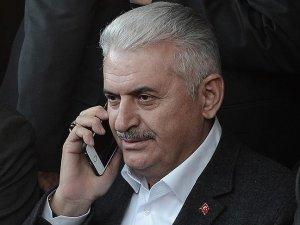 Al Sani, Essid, Abbas ve Meşal'den Başbakan Yıldırım'a tebrik telefonu