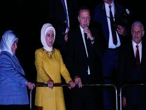 Erdoğan: Terör örgütünün bu son çırpınışlarıdır