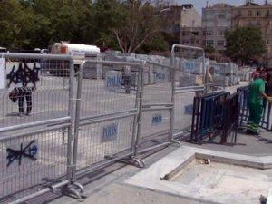 Provokatörlere karşı Gezi Parkı kapatıldı