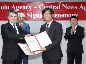 Anadolu Agency signs MOU with Taiwanese news agency
